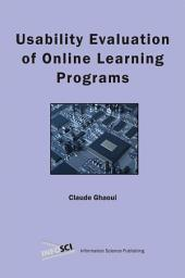 Usability Evaluation of Online Learning Programs