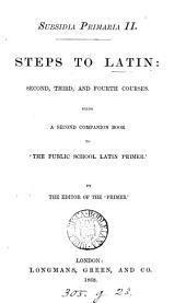 Subsidia primaria, a companion book to the 'Public school Latin primer', by the ed. of the 'Primer'.