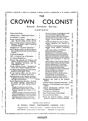 The Crown Colonist PDF