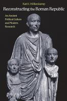 Reconstructing the Roman Republic PDF