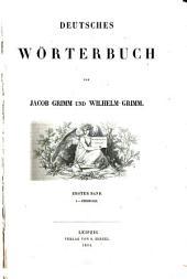 Deutsches Wörterbuch: Band 1