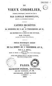 Le vieux cordelier, journal politique, rédigé en l'an II