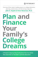 Plan and Finance Your Family's College Dreams