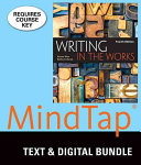 Writing in the Works   Mindtap English  1 Term 6 Month Printed Access Card