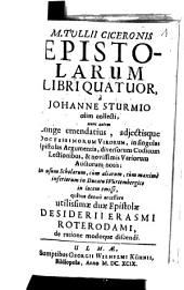 Epistolarum Libri quatuor