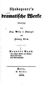 Dramatische Werke: Band 9