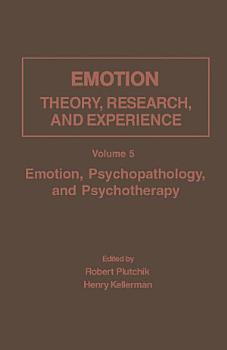 Emotion  Psychopathology  and Psychotherapy PDF