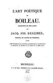 L'art poétique de Boileau