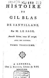 Histoire de Gil Blas de Santillane: Volume3