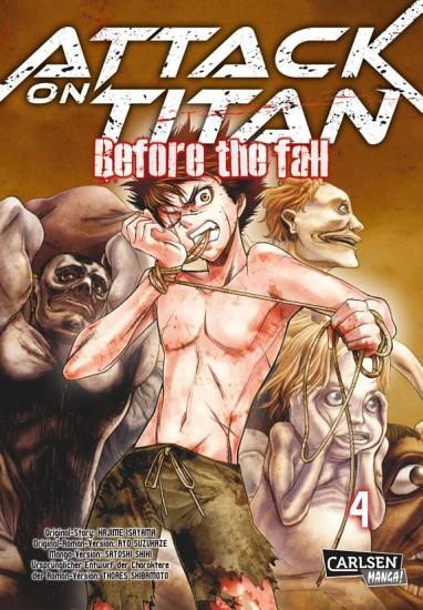 Attack on Titan   Before the Fall 4 PDF