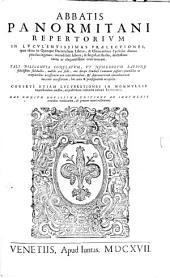Commentaria: Repertorium, Volume 10