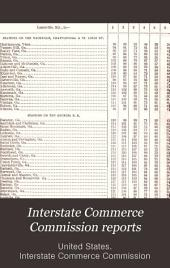 Interstate Commerce Commission Reports: Decisions of the Interstate Commerce Commission of the United States, Volume 30