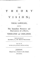 The Theory of Vision Vindicated and Explained