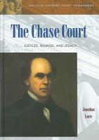 The Chase Court   Justices  Rulings  and Legacy PDF