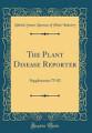 The Plant Disease Reporter