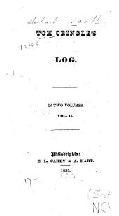 Tom Cringle's Log: Second Series, Volume 2