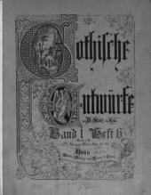 Gothische Entwürfe: Band 1