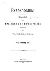 Paedagogium: Band 8