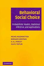 Behavioral Social Choice