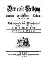 Der erste Feldzug im vierten preußischen Kriege: Band 3