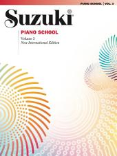 Suzuki Piano School - Volume 3 (New International Edition): Piano Part