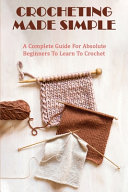 Crocheting Made Simple