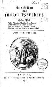 Die Leiden des jungen Werthers: Bände 1-2