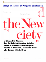 Toward the New Society PDF