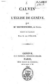 Calvin et l'Eglise de Genève