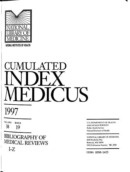 Cumulated Index Medicus PDF