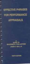 Effective Phrases for Performance Appraisals PDF