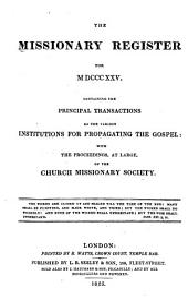 Missionary Register: Volume 13
