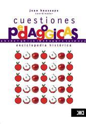 Cuestiones pedagógicas: una enciclopedia histórica