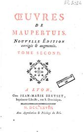 Oeuvres de Maupertuis: Volume 2