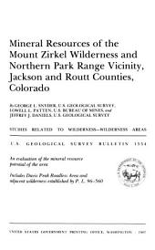 Geological Survey Bulletin: Issues 1554-1557