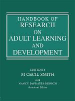 Handbook of Research on Adult Learning and Development PDF