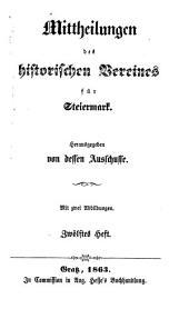 Mittheilungen des Historischen Vereines für Steiermark: Band 12