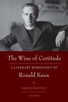 The Wine of Certitude PDF
