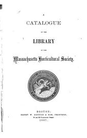 Catalogue of Books in the Library