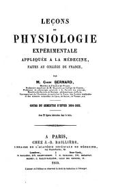 Les oeuvres de Claude Bernard: Volume1