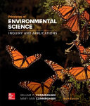Loose Leaf for Principles of Environmental Science