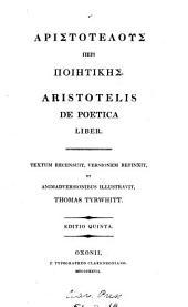 Aristotelis de poetica liber, Gr