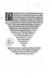 Peritissimi viri. F. Fran. Lycheti de Brixia ... In Iohan. duns Scotum super quaestionibus Quolib. clarissima commentaria: subtilium difficultatum perpulchre solutiones ... incipiunt ..