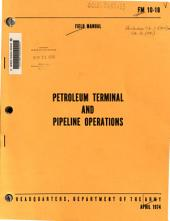 Petroleum Terminal and Pipeline Operations: Part 101