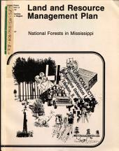 Mississippi National Forests Land and Resource(s) Management Plan (LRMP): Environmental Impact Statement