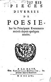 Pièces diverses de poesie