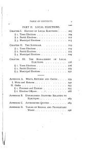 History of Elections in the American Colonies: Volume 3, Issue 1