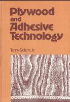 Plywood and Adhesive Technology PDF