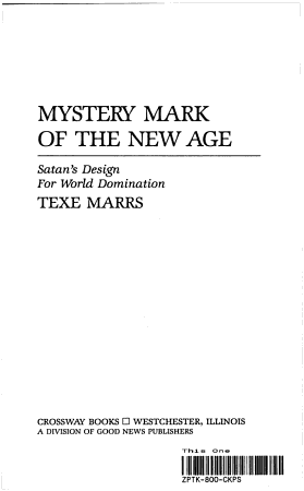 Mystery Mark of the New Age PDF