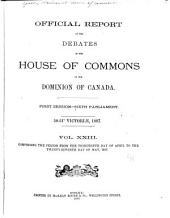 House of Commons Debates, Official Report: Volume 1